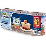 Rainbow Sweetened Condensed Milk, 397g Tin, Pack of 3