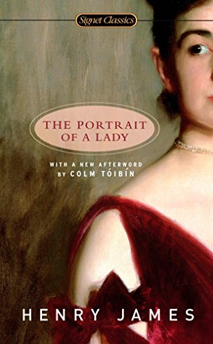 Book cover for The Portrait of a Lady