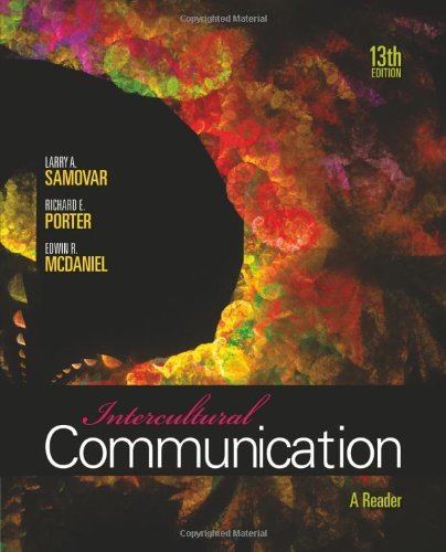 Intercultural Communication: A Reader by Cengage Learning
