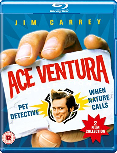 Ace Ventura: Pet Detective/Ace Ventura: When Nature Calls [Blu-ray] [Region Free] [UK Import]