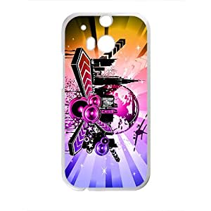 Shining City Graffiti Hot Seller High Quality Case Cove For HTC M8