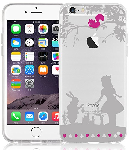 iPhone 6s Case, iPhone 6 Clear Case, JAMMYLIZARD Invisible Gel Sketch Clear...