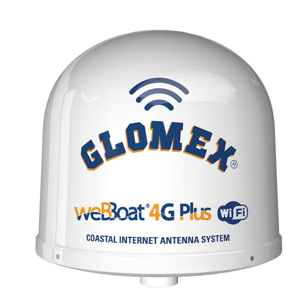 Glomex weBBoat 4G Plus 3G/4G/Wi-Fi Coastal Internet Antenna