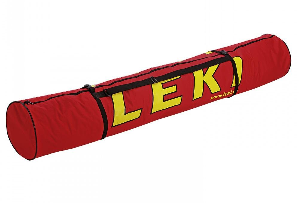 Leki - Ski Bag For 3 Pairs Alpine Skis, color red 360200006