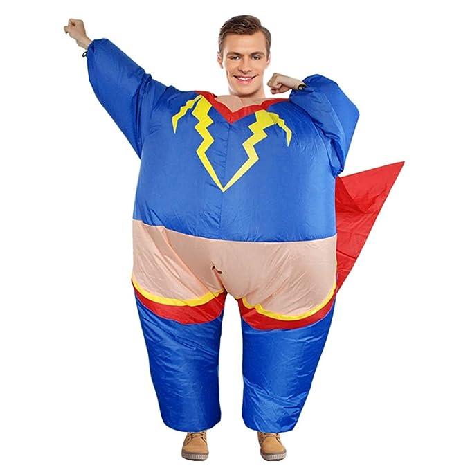 Divertido Hombre Gordo superhéroe Disfraces de Cosplay ...