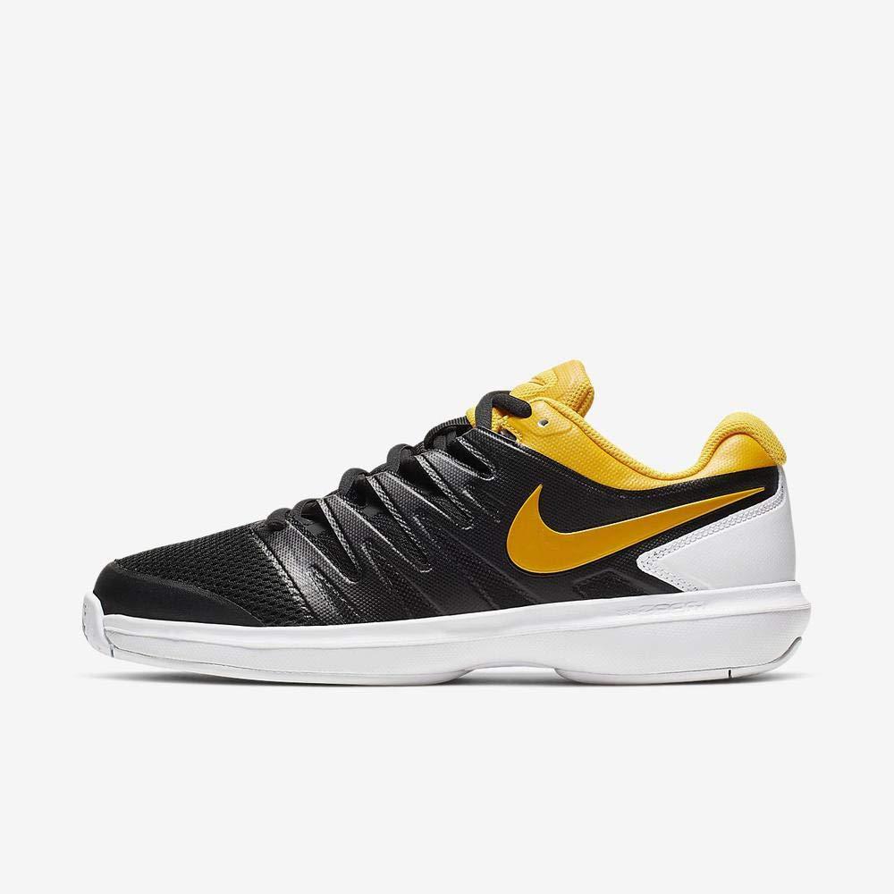 MultiCouleure (noir University or blanc 3) 42 EU Nike Air Zoom Prestige HC, Chaussures de Tennis Homme