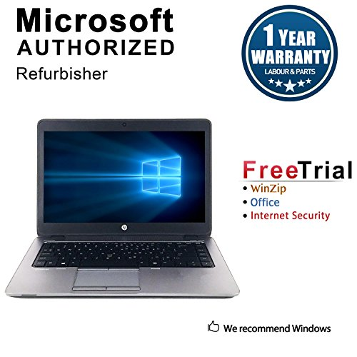 2018 HP Elitebook 840G1 Ultrabook Laptop Computer(Core i5 4300u 1.9Ghz upto 2.9G,8G DDR3 RAM, 240GB SSD, VGA, DisplayPort, USB 3.0, Windows 10 Pro 64-Bit) (Renewed) (Best New Affordable Laptops)