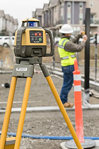 Topcon RL-H5A Self Leveling Horizontal Rotary Laser with Bonus EDEN Field Book| IP66 Rating Drop, Dust, Water Resistant| 800m Construction Laser| Includes LS-80L Receiver, Detector Holder, Hard Case by TOPCON (Image #3)