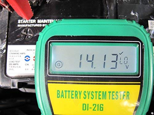 DLG DI-216 Automotive Battery Tester Vehicle Car Battery System Analyzer Diagnostic Tool by DLG (Image #7)