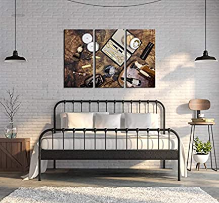 Amazon.com LevvArts , 3 Piece Canvas Wall Art Classic
