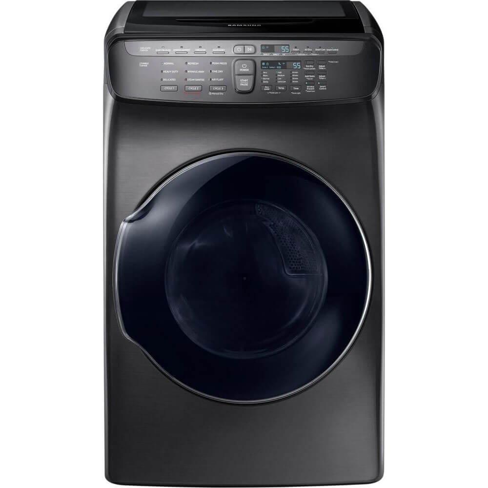 Samsung DVE55M9600V 7.5 Cu. Ft. Black Stainless Electric Dryer with FlexDry DVE55M9600V/A3