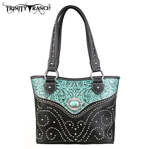 montana-west-tr14-8005-trinity-ranch-tooled-design-turquoise-western-handbag-purse