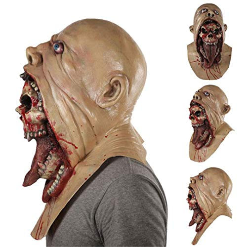 Resin Mask Halloween Latex Masks with Deluxe Quality Dreadful Horror Halloween Burp Charlie Style Halloween Costume 1
