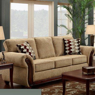 Chelsea Home Furniture Courtney Sofa, Radar Havana