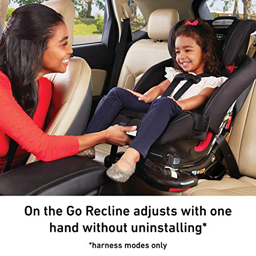 Graco Recline N Ride 3 in 1 Car Seat Infant to Toddler Car Seat featuring Easy, One Hand On the Go Recline, Alpine