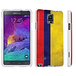 HTC One M7 Hard Case White - (Colombia Flag)