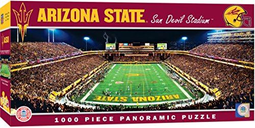 MasterPieces Collegiate Arizona State Sun Devils 1000 Piece Stadium Panoramic Jigsaw Puzzle