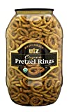 Utz Multigrain Organic Pretzel Rings, 37 oz Barrel (Pack of 6)