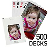 500 Decks - Custom Printed Playing Cards (500 Poker Size Decks)