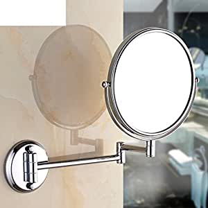 telescoping mirror for bathroom jiuchanpin extendable makeup mirror all copper 20780