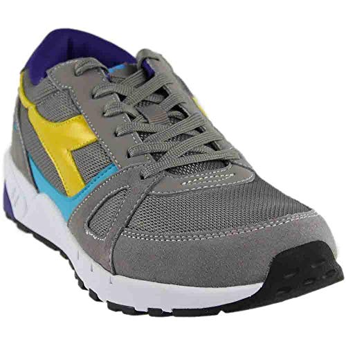 Shoes 750 Running (Diadora Men's Running 90-M, Grey Ash Dust, 9.5 M US)