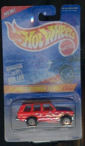 - Hot Wheels 1995-386 Range Rover Flamethrower Series 3 of 4 1:64 Scale
