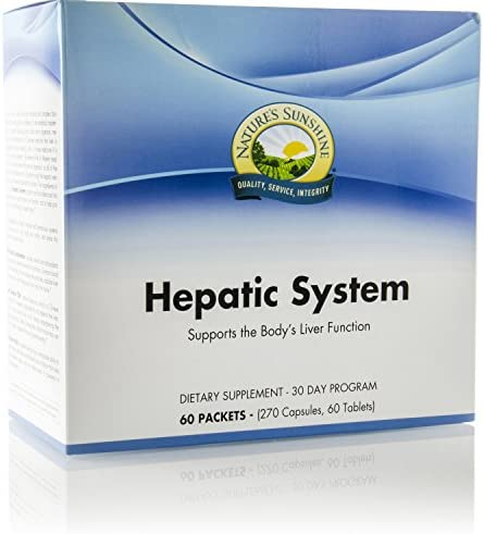 Nature s Sunshine Hepatic System 30 Day, 60 Packets