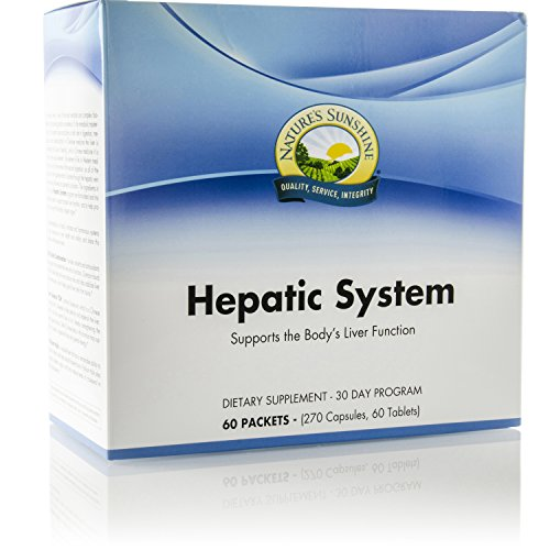 Nature s Sunshine Hepatic System, 30 Day Supply Liver Support Supplement with Milk Thistle and Antioxidants to Cleanse and Protect Against Toxins