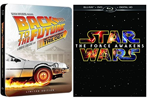 Star Wars: The Force Awaken / Back to The Future: 30th Anniversary Trilogy