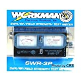 SWR / Power METER for CB Radio 100 Watts – Dual Meters – Workman SWR3P