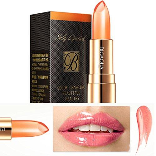 - Livoty 3 Colors Makeup Waterproof Moisturizing Airtight Lipstick Long Lasting Lip (orange)
