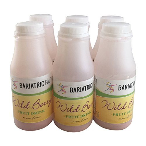BariatricPal Ready To Shake Instant 15g Protein Fruit Drink - Wild Berry (6-Pack)