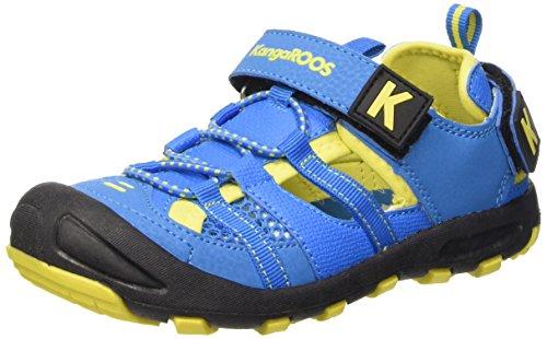 KangaROOS Kangaspeed 2068 - senderismo Unisex Niños Bleu (Blue/Acid Yellow 417)