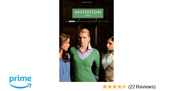 Invitation Only Kate Brian Pdf