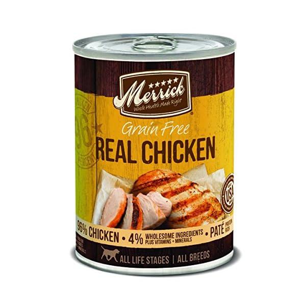 Merrick Grain Free Wet Dog Food, 12.7 Oz,  12 Count Case
