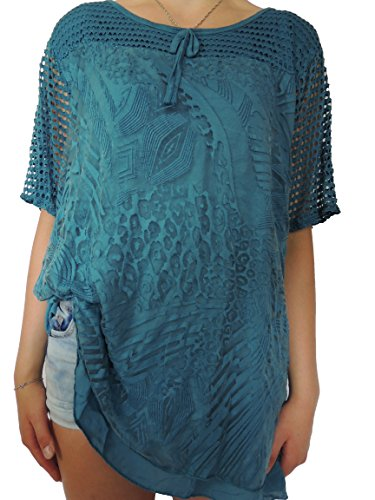 Nowingline - Camisas - para mujer petróleo