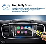 LFOTPP 2016-2018 Kia Sorento UVO 8 Inch Car Navigation Screen Protector, [9H] Tempered Glass Infotainment Center Touch Screen Protector Anti Scratch High Clarity