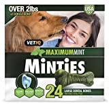 Minties VetIQ Dental Dog Treats (For Dogs 40LBS Plus) For Sale
