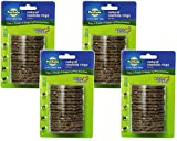 (4 Pack) PetSafe Busy Buddy Refill Ring Dog Treats for select Busy Buddy Dog Toys, Natural Rawhide, Size C Review