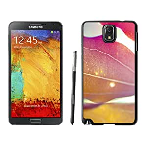 New Fashion Custom Designed Skin Case For Samsung Galaxy Note 3 With Leaves Under The Sunlight Phone Case Cover