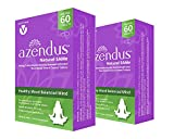 Azendus MOOD 400mg 2-Boxes of S-Adendosylmethionine Butanedisulfonate (SAM-e) 120 Enteric Coated Tablets - Anxiety Relief and Stress support natural supplement