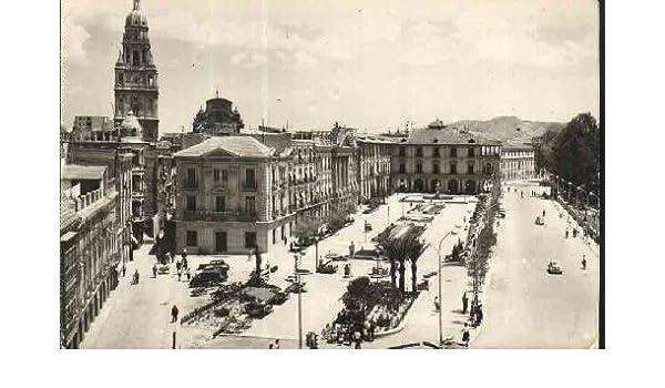 Postal Antigua - Old Postcard : MURCIA - Glorieta de España, Vista desde el Hotel Victoria: Amazon.es: Sin autor: Libros