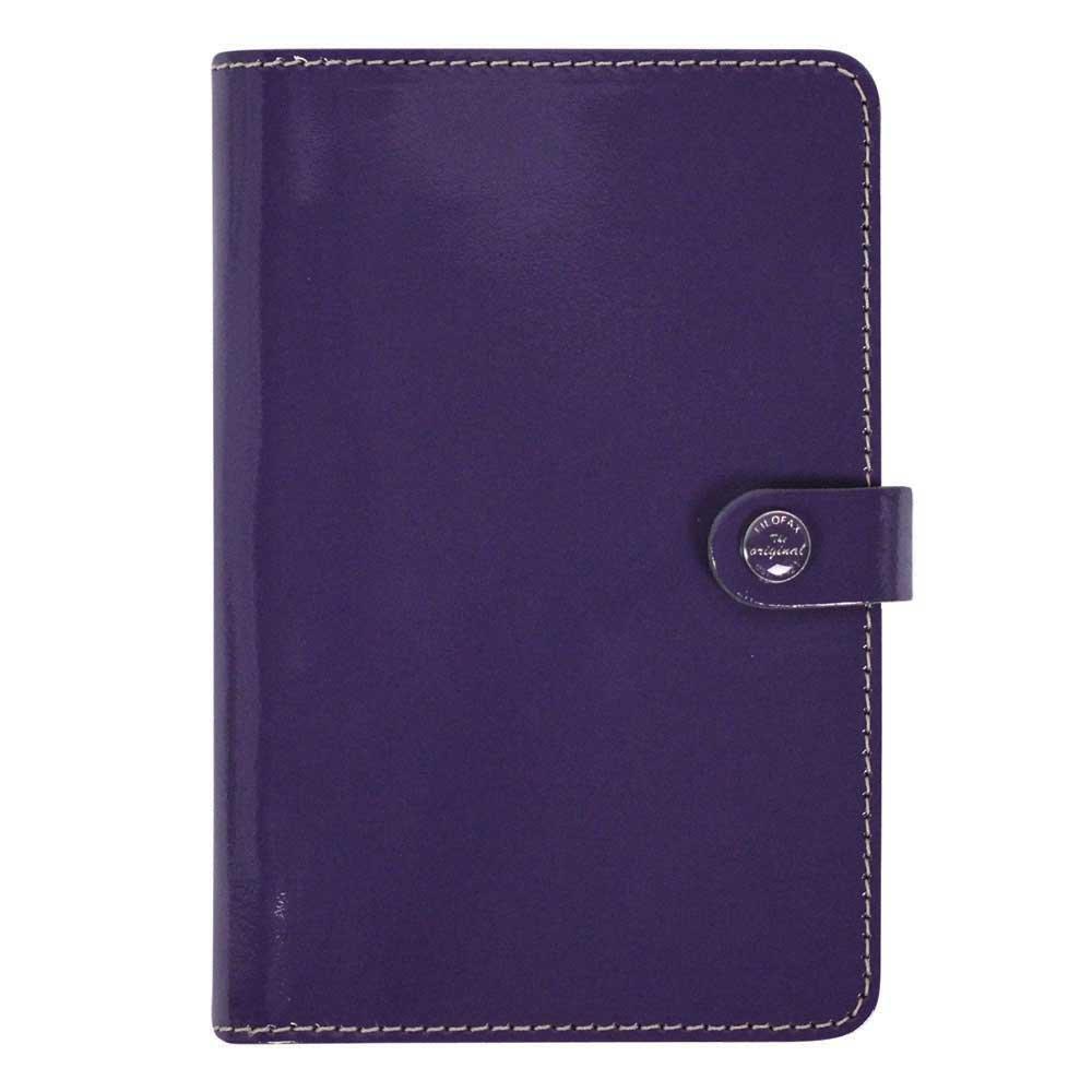 Filofax 2015 Personal Organizer, The Original Patent Purple (C022433-15)