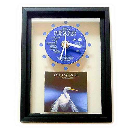 FAITH NO MORE - Angel Dust: FRAMED CD WALL CLOCK/With Cover Art