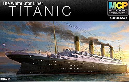 Academy 1/400 R.m.s. Titanic Brand New Mcp Multi Colour Part