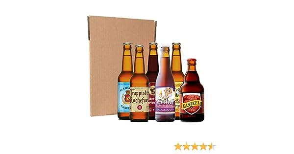 Pack degustación de cervezas belgas (6 botellines / latas de 33 cl): Amazon.es: Alimentación y bebidas