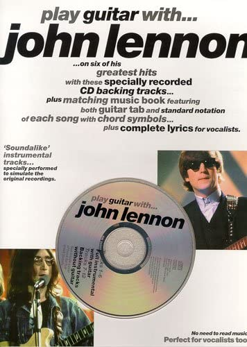 Play Guitar With... John Lennon. Partituras, CD para Acorde de ...