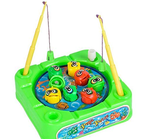 DollarItemDirect 3.5 inches Wind up Fishing Game, Case of 192