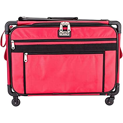 Image of Carrying Cases Tutto 9224CMA Tutto Machine on Wheels-XL Red 23'L x 15'H x 14'D