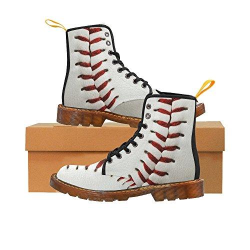 D-story Schoenen Baseball Lace Up Martin Boots Voor Heren